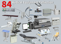 medical equipment 84 3d model