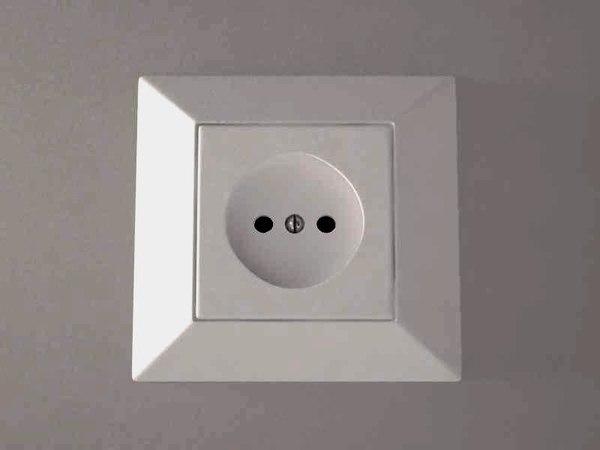 3d model power socket