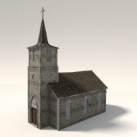 church ready 3d model