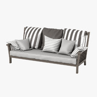max gervasoni gray bench