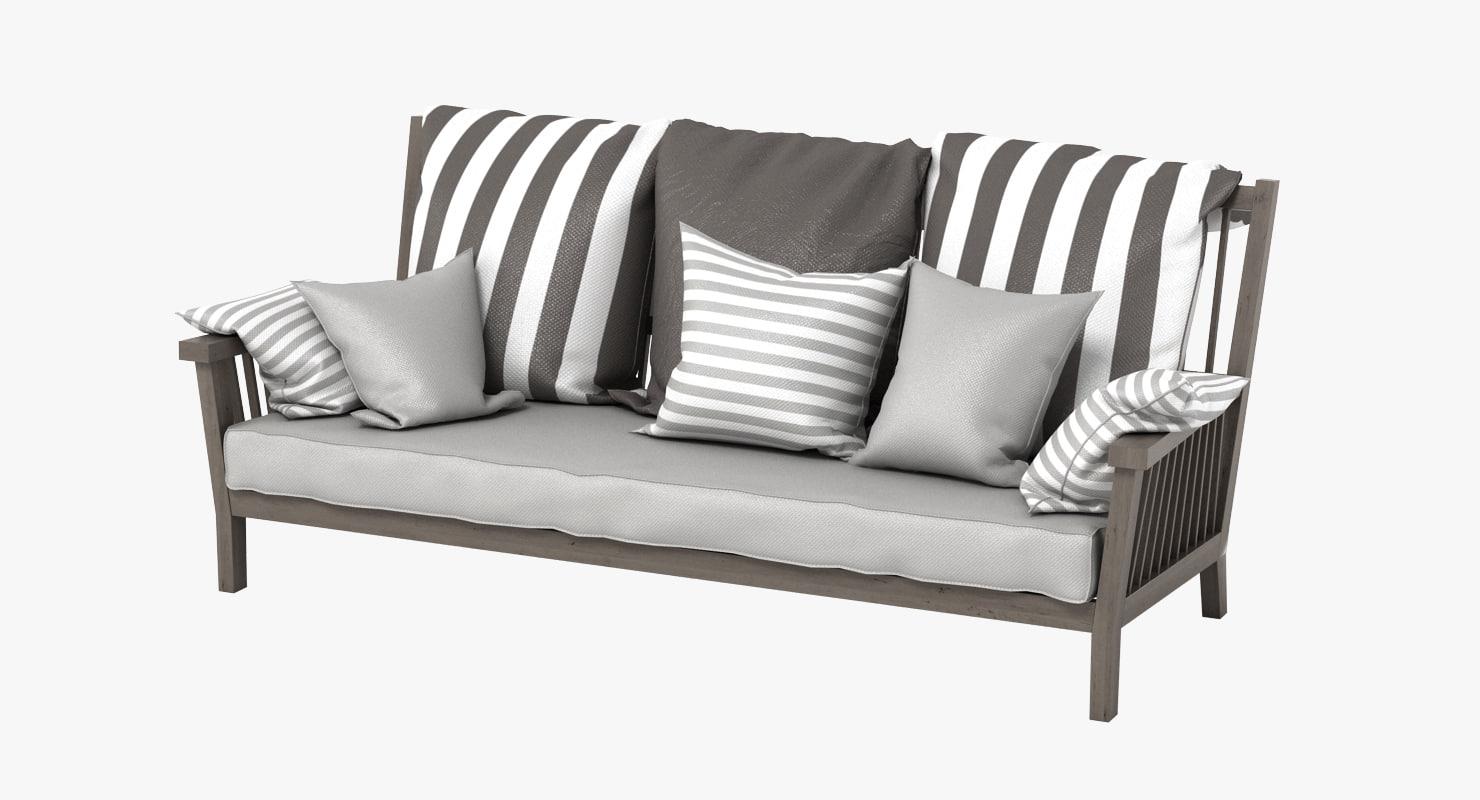 max gervasoni gray bench