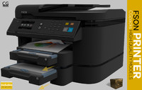 Printer, Scanner, copier, fax fson