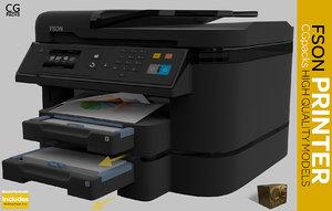 printer scanner copier max