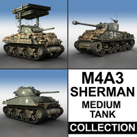 M4A3 Sherman - Collection