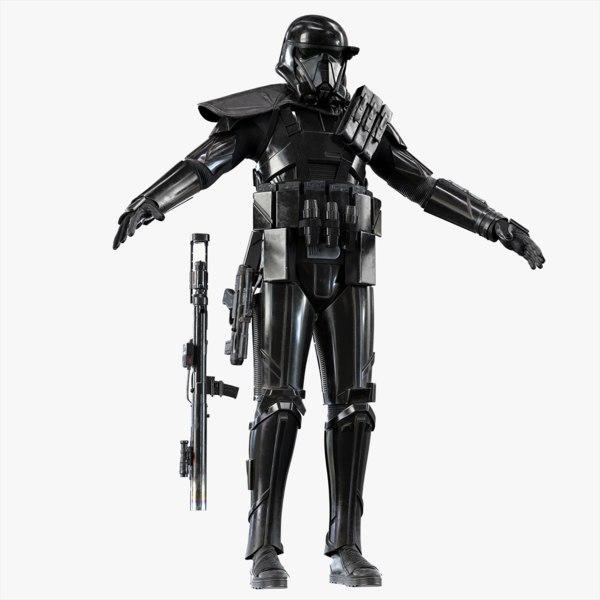3d model death trooper