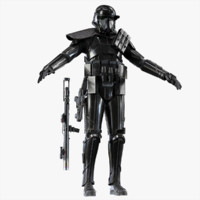 3d model death trooper
