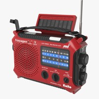 3d model kaito radio
