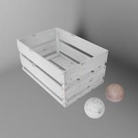 white decor box 3d max