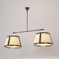 3d model ceiling lamp zonca