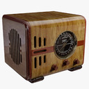 radio cabinet 3D models