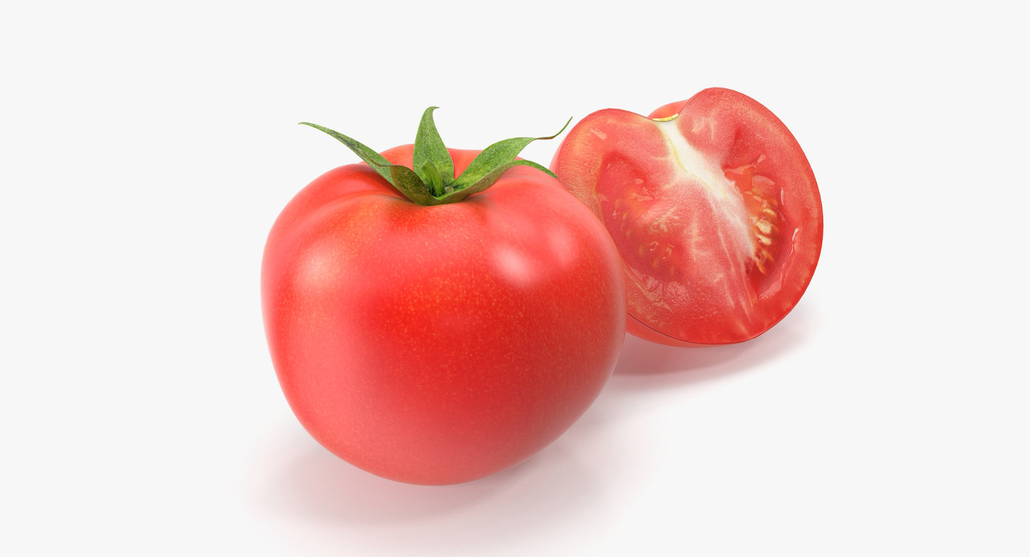 tomato vegetable 3d max
