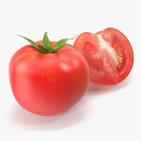 tomato vegetable 3d max