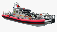 3d model of patrol department boat new york