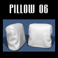 pillow interior 3d obj
