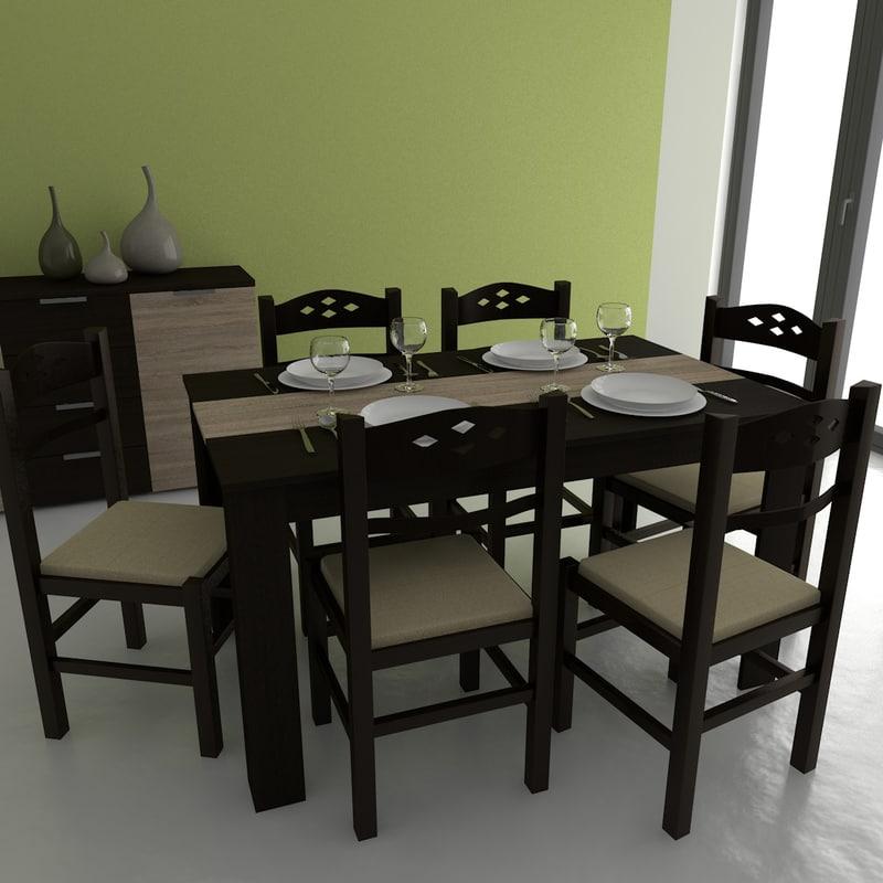 3d model 3dmodels table