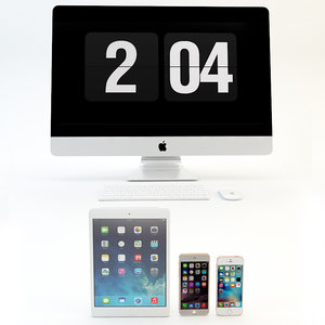 apple electronics 3d max