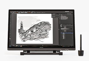 graphics pen xp-pen artist 3d 3ds