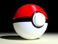 3d model poke ball