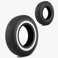 tire bfgoodrich 3d model