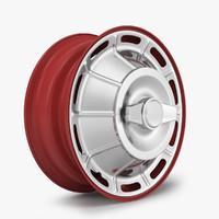 wheel steel rim 3d model