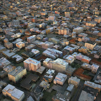 3d model cityscape city streets