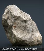 3d realistic rock