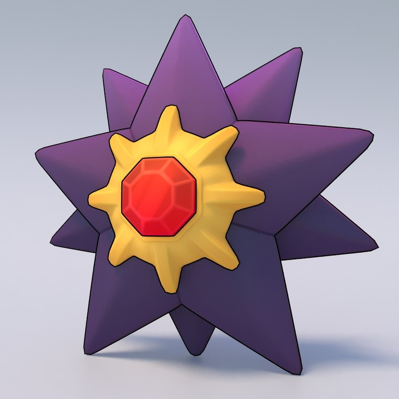 3d starmie pokemon