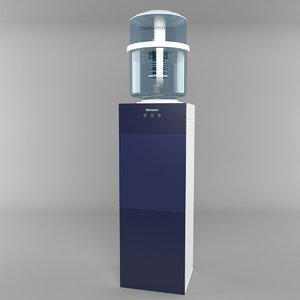 water cooler 3d model