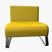 maggion armchair 3d 3ds