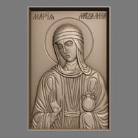 3d obj orthodox christian icon st