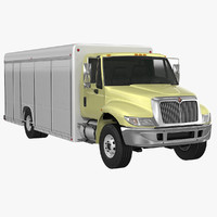 beverage delivery truck 3ds