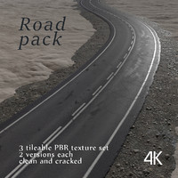 Road texture pack PBR