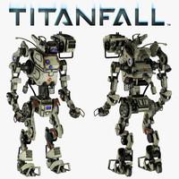 3d titanfall stryder titan model