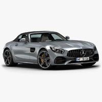 2017 Mercedes-Benz AMG GT-C Roadster