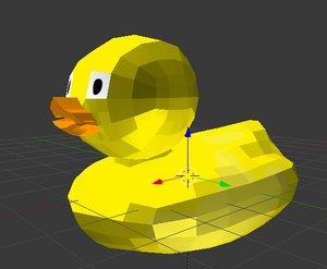 quack 3d model