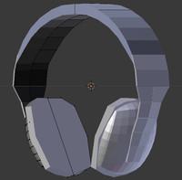 3d model headset