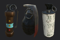 Game Ready: Grenade Pack