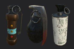 3d pack grenade