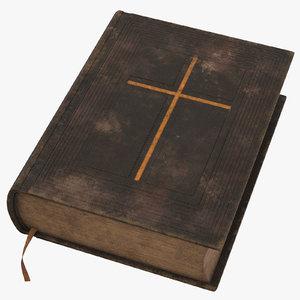 vintage bible c4d