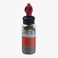 voodoo spirit bottle 03 3d max