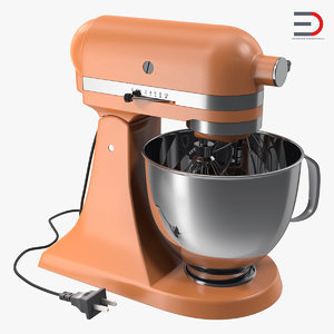 vintage style stand mixer 3ds
