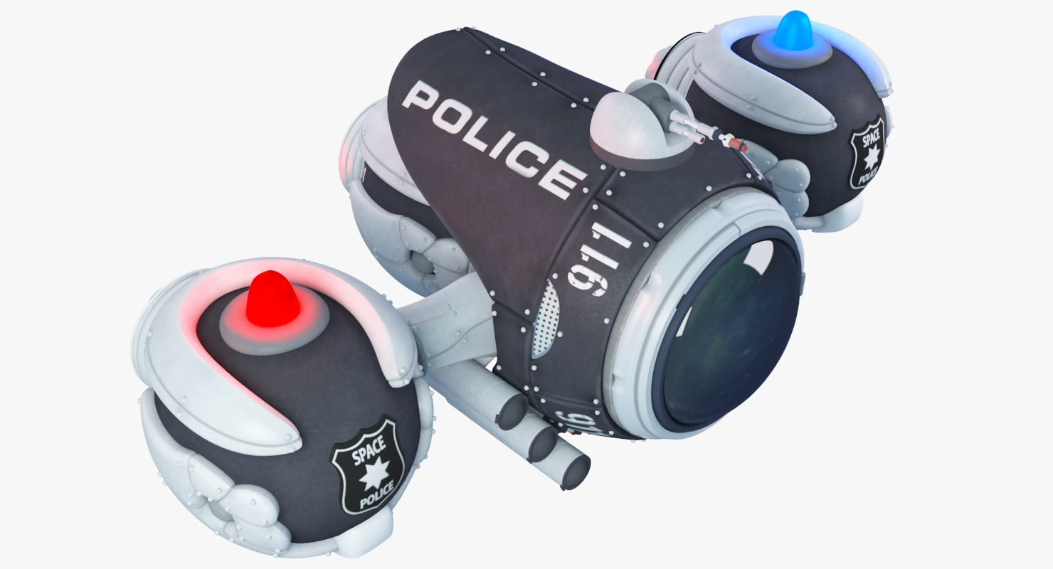 max police space ship