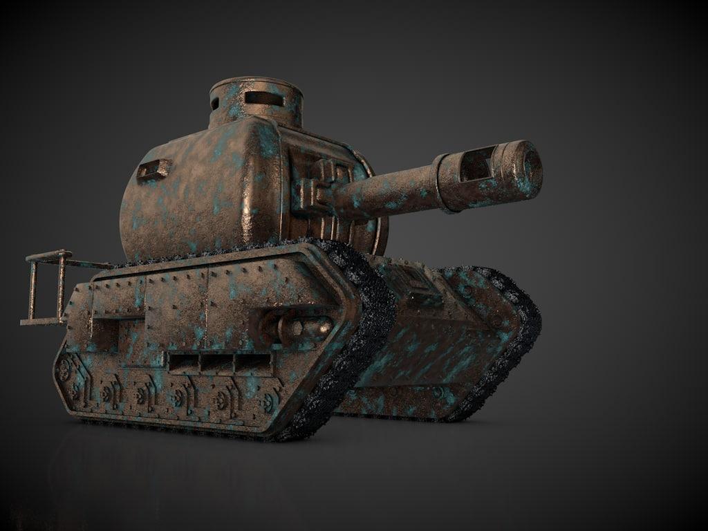 tank c4d