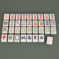 mahjong set 3d model