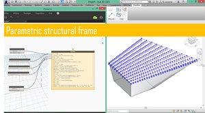 Parametric structural frame