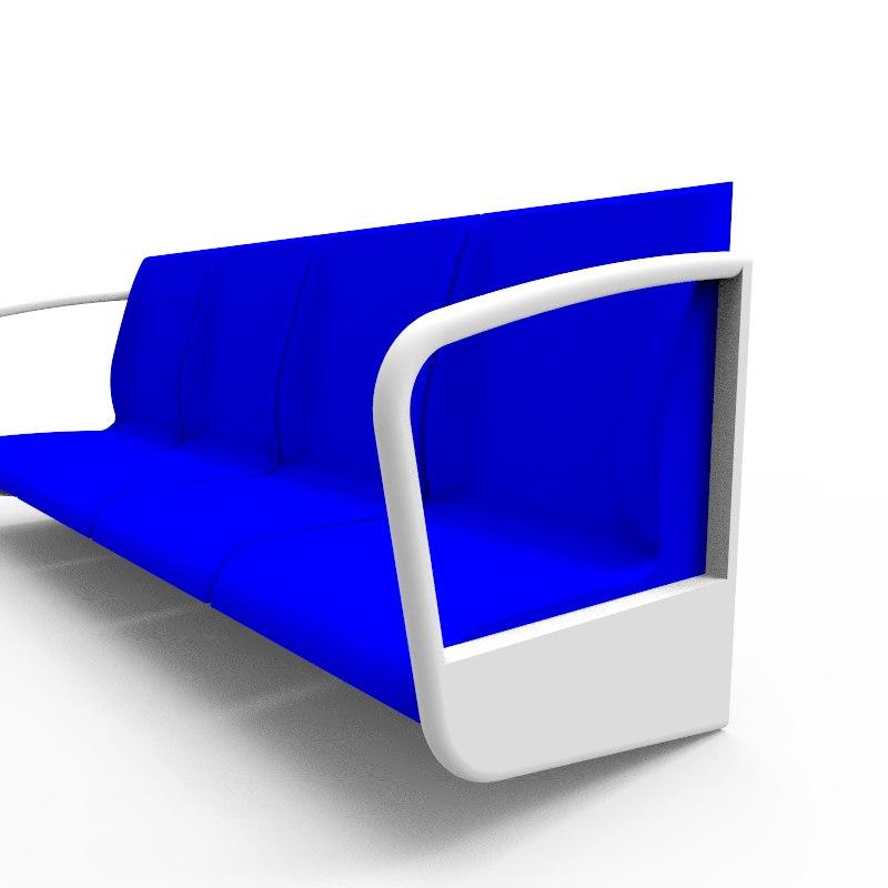 3d seats model