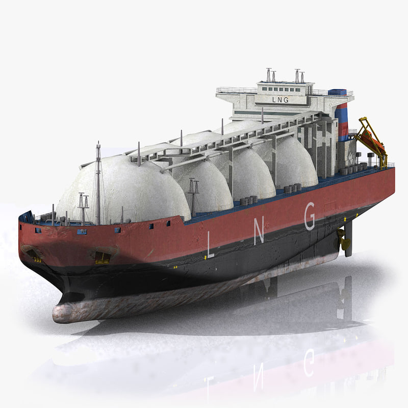 container ship boat 3d model