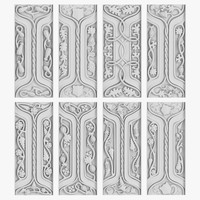 3d model of architectural ornament vol 05