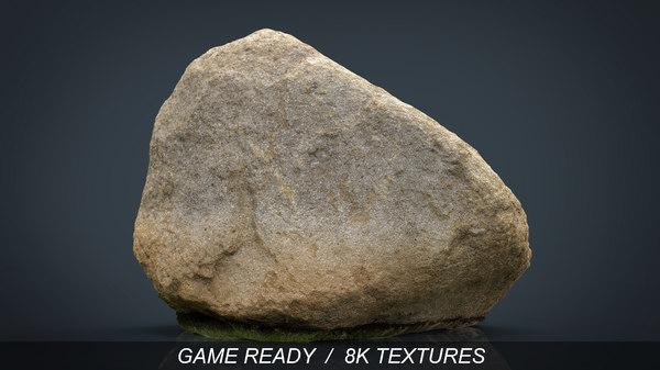 realistic rock 3d max