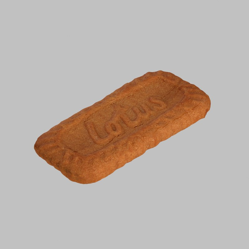 biscuit coffee 3d max
